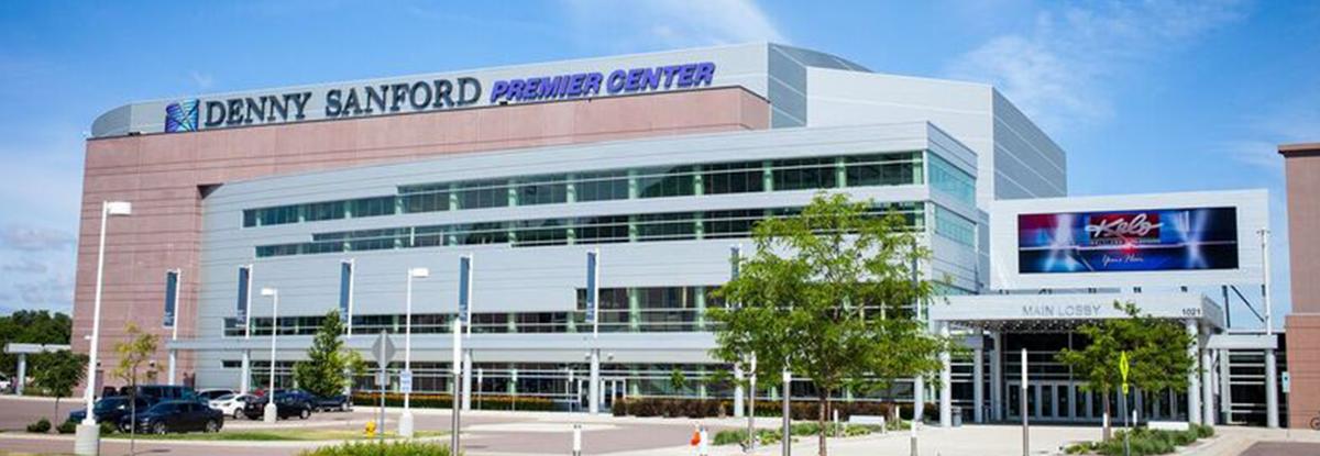 Sanford PREMIER Center - Sponsorships | First PREMIER Bank
